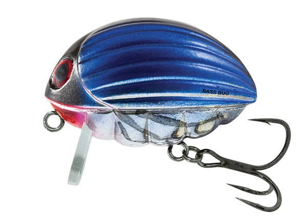 BASS BUG FLOATING - 5.5cm Bluebird