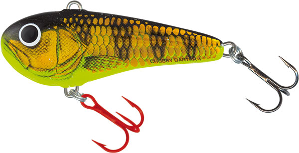 CHUBBY DARTER SINKING - 4cm Gold Yellow Perch