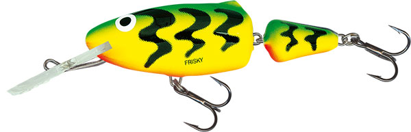 FRISKY DEEP RUNNER - 5cm Green Tiger