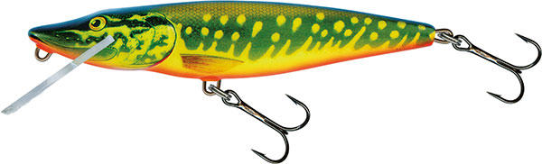 PIKE DEEP RUNNER - 11cm HOT PIKE