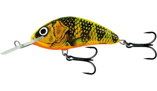 HORNET FLOATING - 9cm Gold Fluo Perch