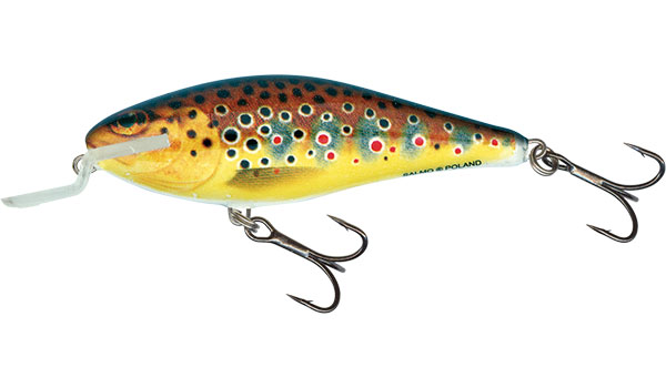 EXECUTOR SHALLOW RUNNER - 9cm Trout