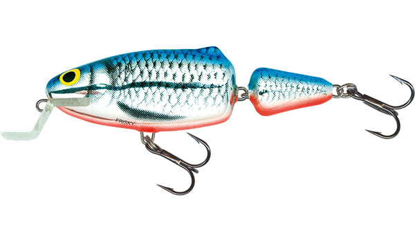 FRISKY SHALLOW RUNNER - 5cm Silver Blue Orange