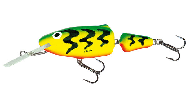 FRISKY DEEP RUNNER - 7cm Green Tiger