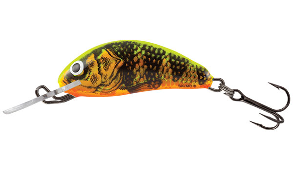 HORNET FLOATING - 3.5cm Gold Fluo Perch