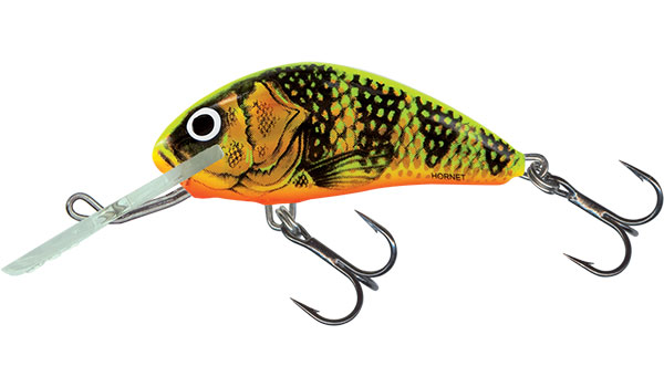 HORNET FLOATING - 6cm Gold Fluo Perch