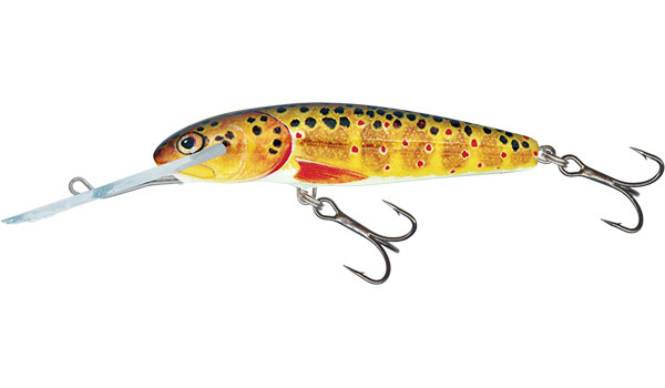 MINNOW SUPER DEEP RUNNER - 7cm Trout