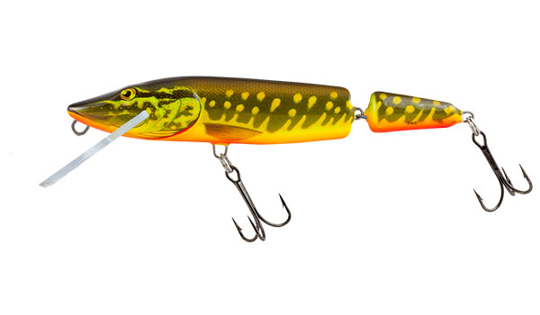 PIKE JOINTED FLOATING - 11cm Hot Pike
