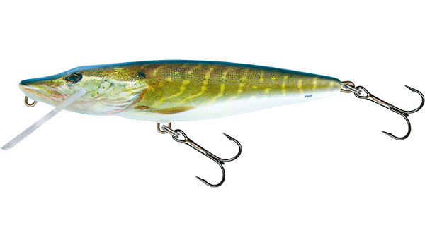 PIKE DEEP RUNNER - 11cm REAL PIKE