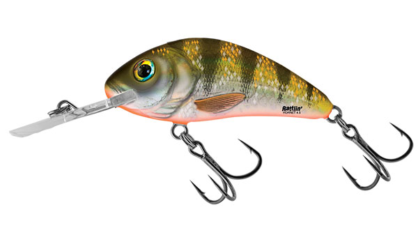 RATTLIN HORNET FLOATING - 4.5cm Yellow Holo Perch