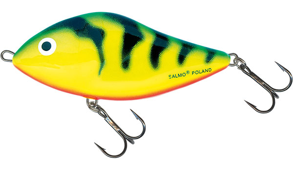 SLIDER FLOATING - 10cm Green Tiger