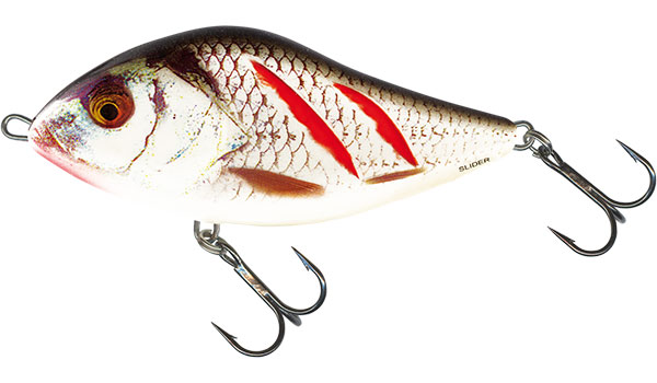 SLIDER FLOATING - 10cm Wounded Real Grey Shiner