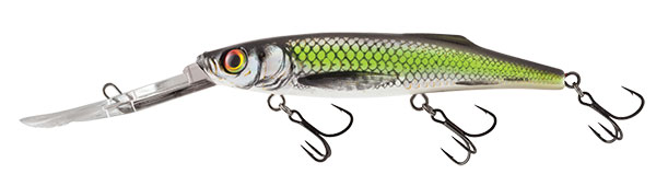 Freediver 12 Super Deep Runner Silver Chartreuse Shad