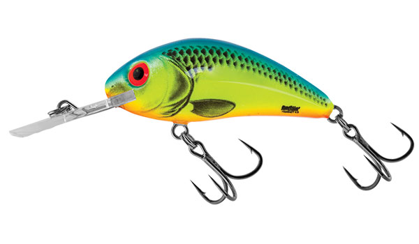 Rattlin Hornet 4.5 Floating Chartreuse Blue