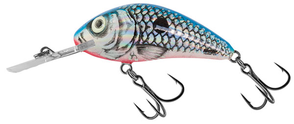 Rattlin Hornet 6.5 Floating Silver Blue Shad