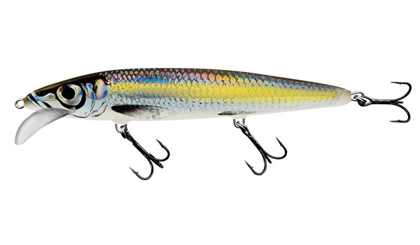 Whacky 12 Floating Silver Chartreuse Shad