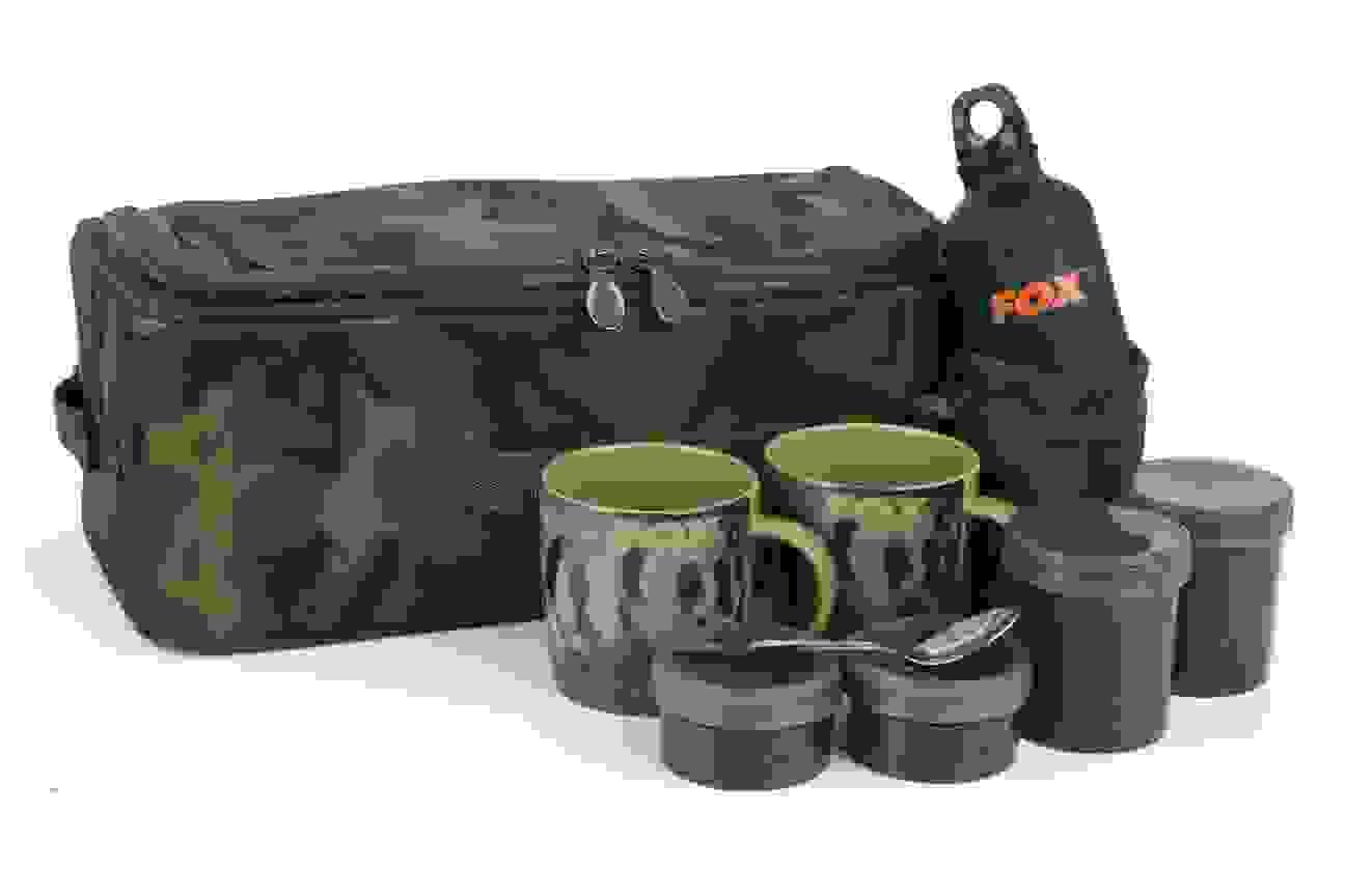 Carp Luggage Fox Camolite Spool case Large