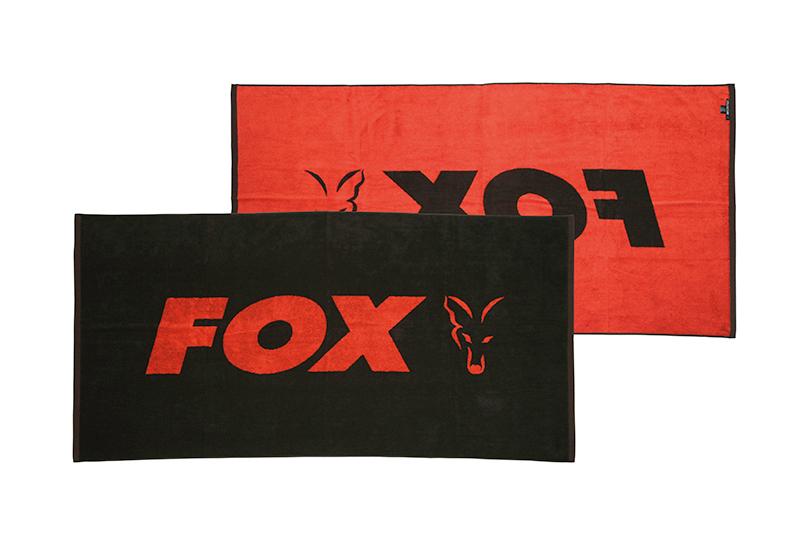 cll176_fox_beach_towel_black_orange_mainjpg