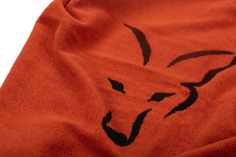 cll176_fox_beach_towel_black_orange_logo_detailjpg