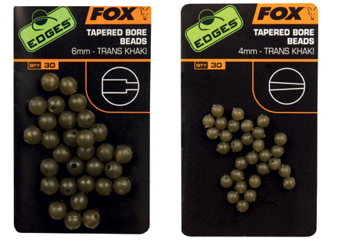 Fox Edges Camo Tapered Bore Beads