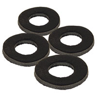 FOX Podložky - Black Label Leather Washers (4ks)