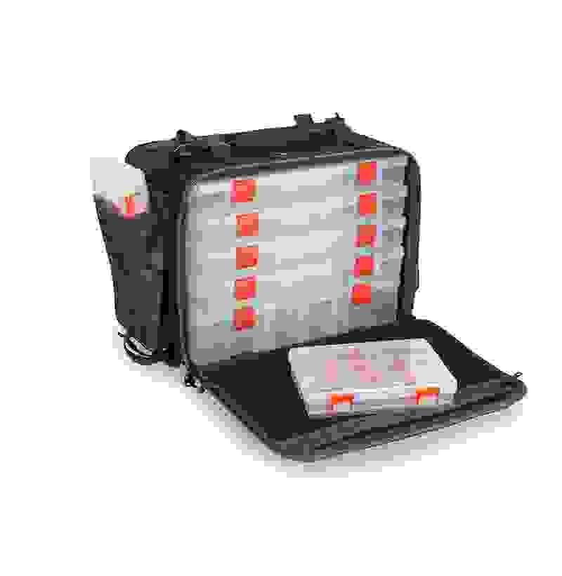 2 tackleboxen 28x22,5x4cm Camouflage Fox Rage Voyager Camo Messenger Bag incl