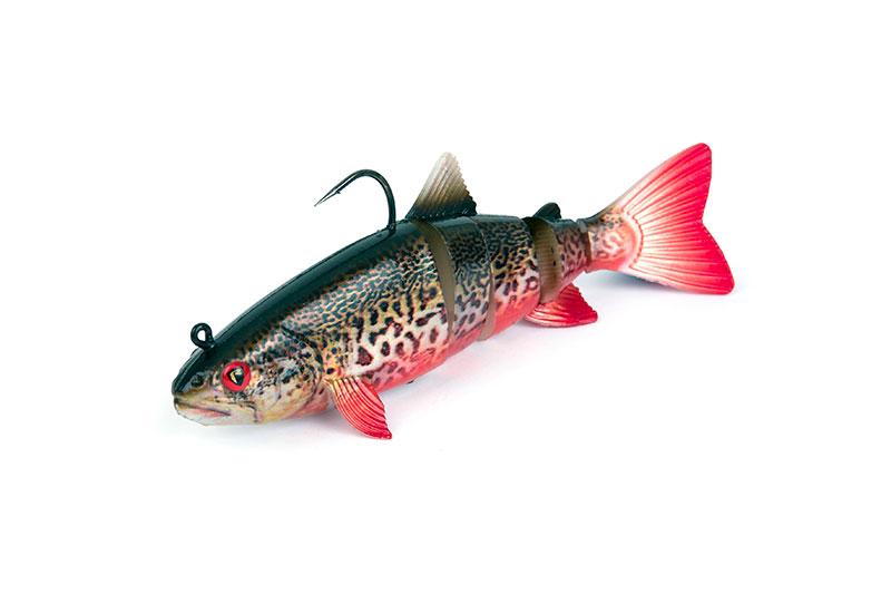 REALISTIC REPLICANT TROUT JOINTED