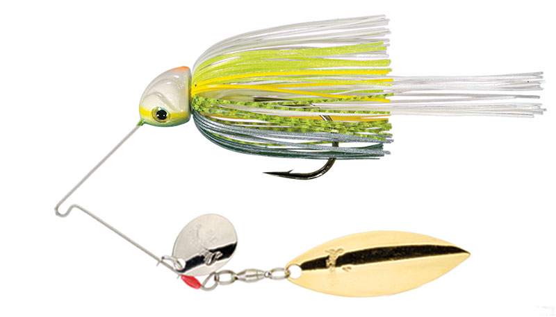 Hack Attack Heavy Cover Spinnerbait Chartreuse Sexy Shad - 21.3g