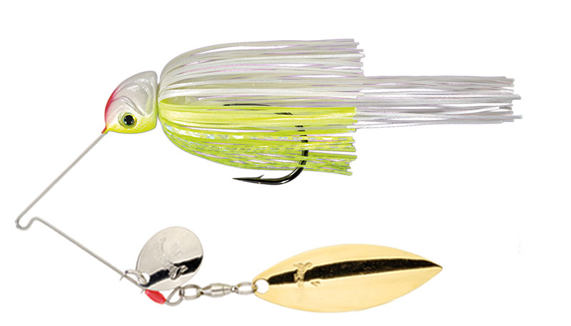 Hack Attack Heavy Cover Spinnerbait Chartreuse/White - 21.3g