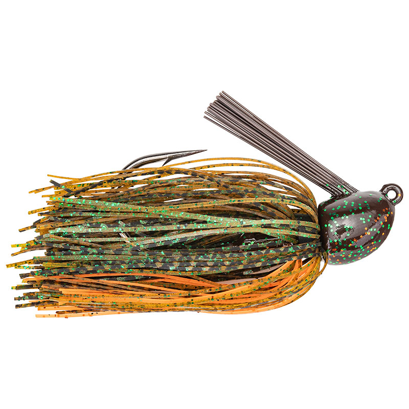 Hack Attack Heavy Cover Jig Sexy Craw - 21.3g
