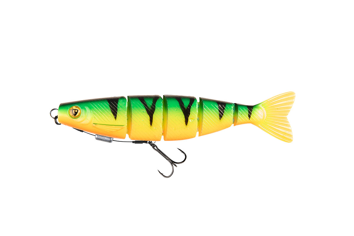 Составные приманки Pro Shad Jointed Loaded UV Firetiger 18cm/52g Sz.1/0 Jointed