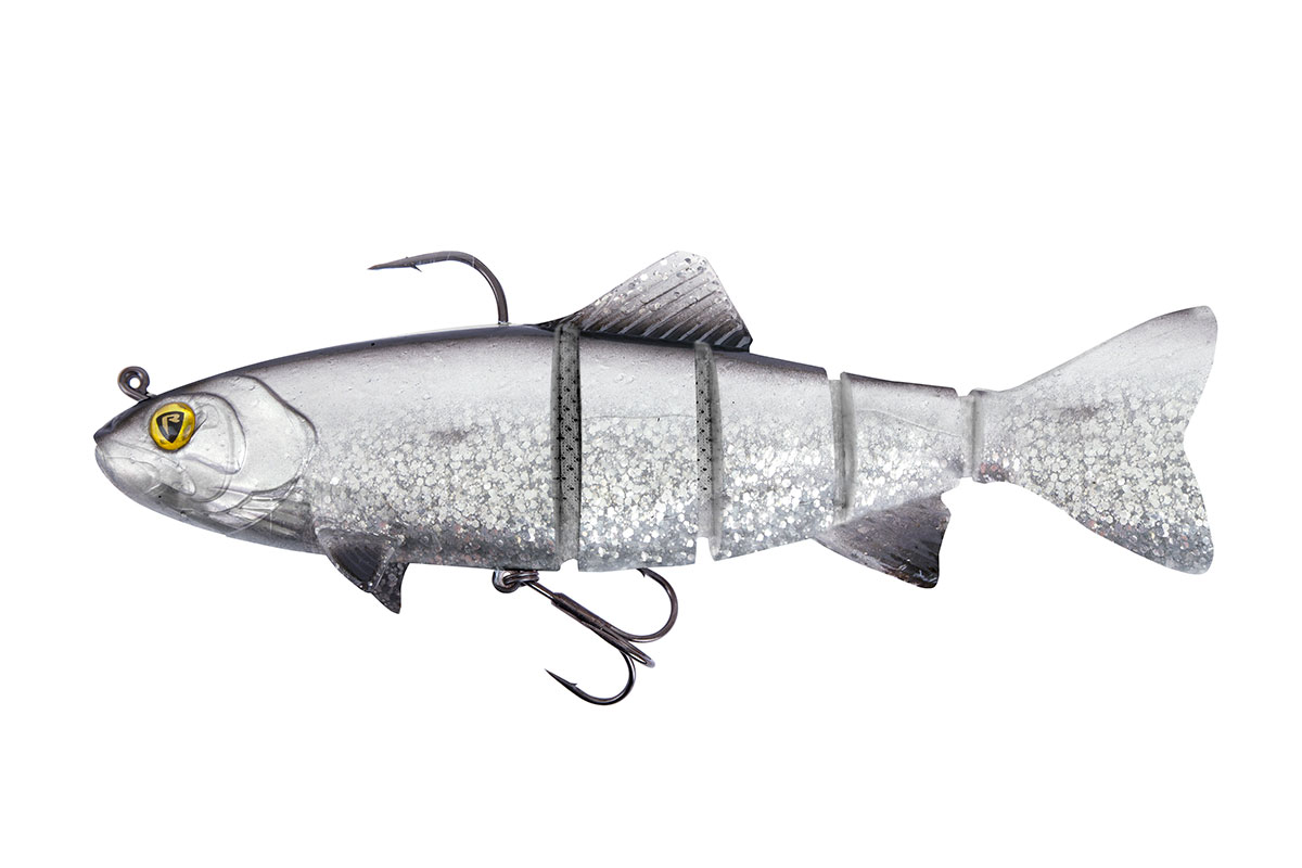 Replicant Realistic Trout Jointed 14cm 14cm/5.5 50g UV Silver Bleak x 1pcs