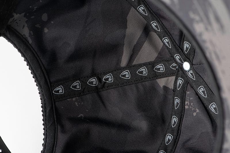 nhh005_rage_black_flat_peaked_cord_cap_inner_lining_detailjpg