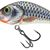 NEW COLOURS RATTLIN' HORNET FLOATING - 3.5cm Silver Holographic Shad
