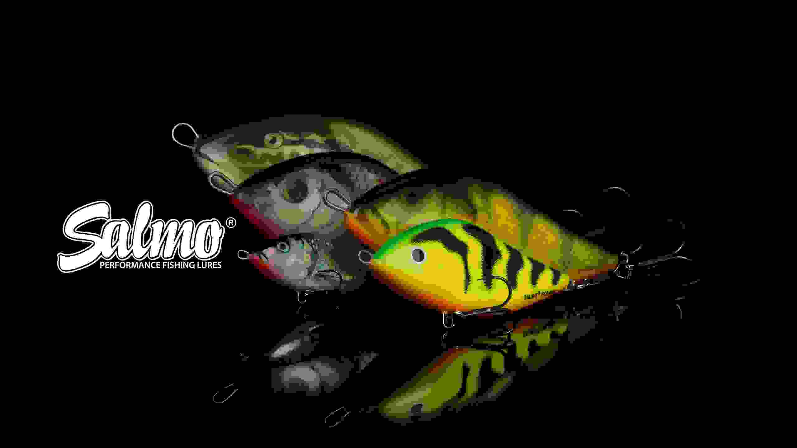 Salmo Fox Fishing Lures SQUAREBILL Floating 5cm 6cm Predator Tackle Pike Bass