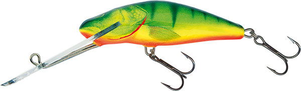 BULLHEAD SUPER DEEP RUNNER - 6cm Hot Perch