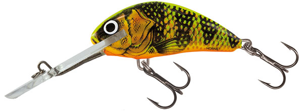 HORNET SUPER DEEP RUNNER - 4cm Gold Fluo Perch