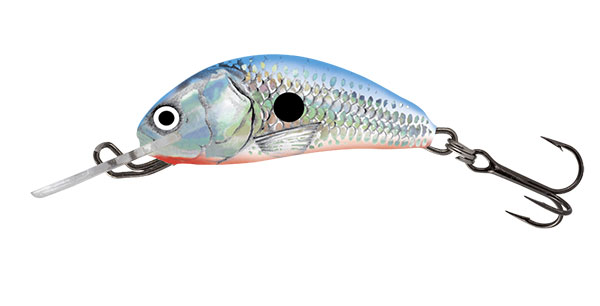 HORNET FLOATING - 3.5cm Silver Blue Shad