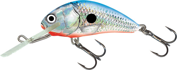 HORNET FLOATING - 6cm Silver Blue Shad