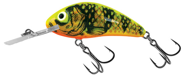 RATTLIN HORNET FLOATING - 6.5cm Gold Fluo Perch
