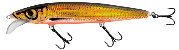 WHACKY FLOATING - 12cm GOLD CHARTREUSE SHAD