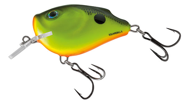 SQUAREBILL FLOATING - 6cm Chartreuse Shad