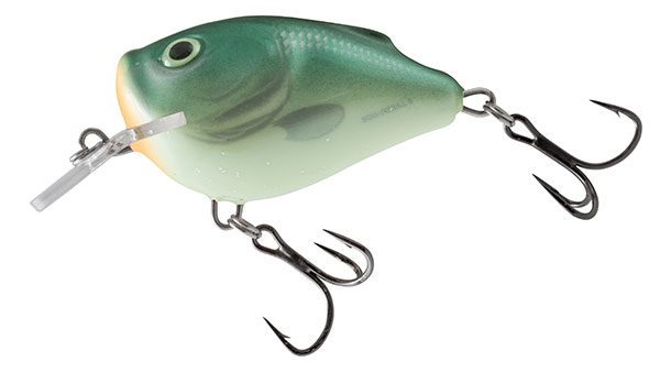SQUAREBILL FLOATING - 5CM Green Back Herring