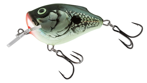 SQUAREBILL FLOATING - 6cm Holo Grey Shad