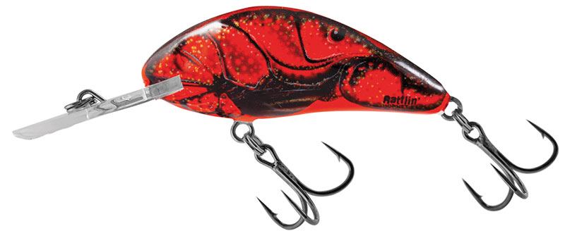 RATTLIN HORNET FLOATING - 5.5cm Red Crawdad