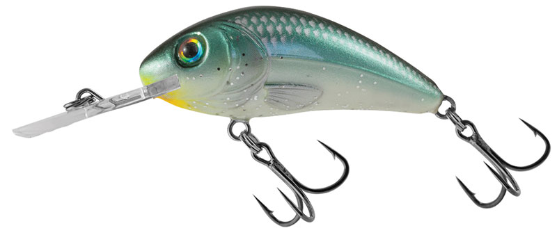 RATTLIN HORNET FLOATING - 5.5cm Green Back Herring