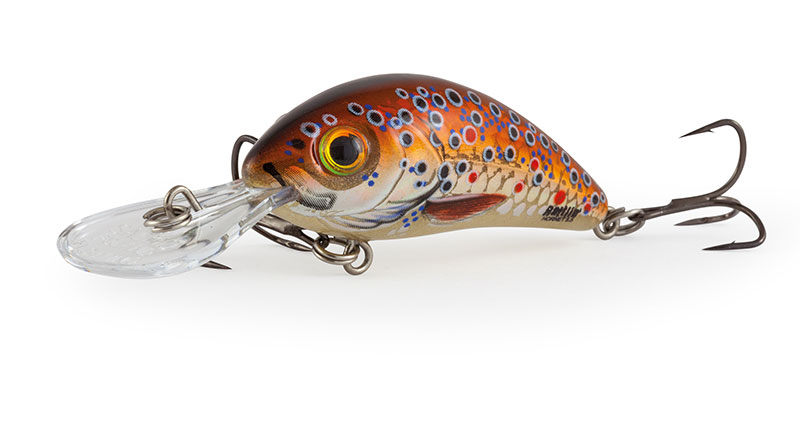 RATTLIN HORNET FLOATING - 4.5cm Holographic Brown Trout