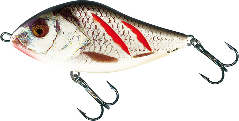 SLIDER FLOATING - 7cm Wounded Real Grey Shiner