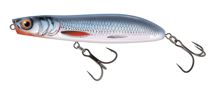 RATTLIN STICK FLOATING - 11cm Holo Blue Shiner