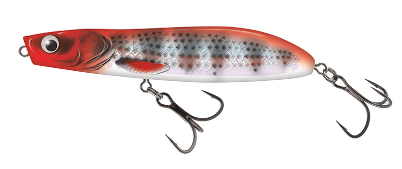 RATTLIN STICK FLOATING - 11cm Red Head Striper